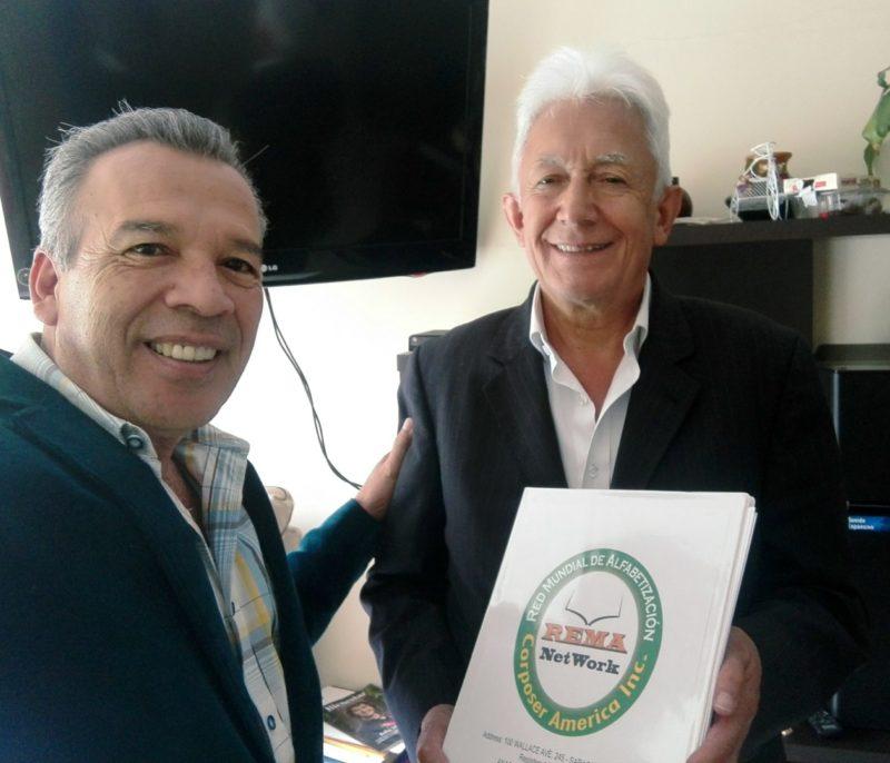 Juan Páez Carrillo fue el pionero #1 en la creación de la Red Mundial de Alfabetización y Gestión Humana